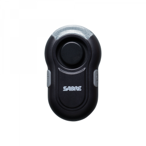 SABRE Personal Alarm with LED Light - Black