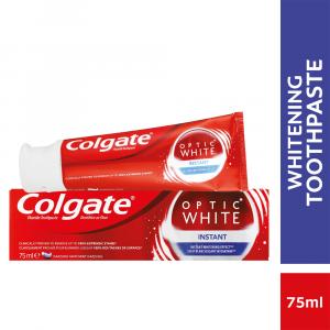 Colgate Optic White Instant Whitening Toothpaste - 75ml