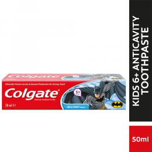 Colgate Kids 6+ Years Batman Toothpaste Mild Fruit - 50ml