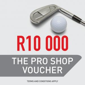 The Pro Shop R10 000 Gift Voucher