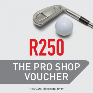 The Pro Shop R250 Gift Voucher
