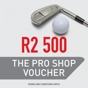 The Pro Shop R2 500 Gift Voucher