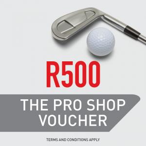 The Pro Shop R500 Gift Voucher