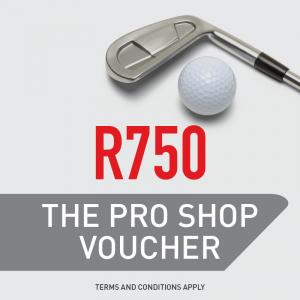 The Pro Shop R750 Gift Voucher