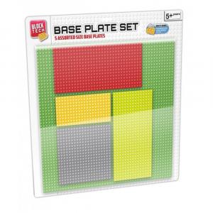 Block Tech 5 In 1 Base Plate Set