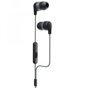 Skullcandy Ink'd + Earbuds with Mic 1 - Black/Black/Grey