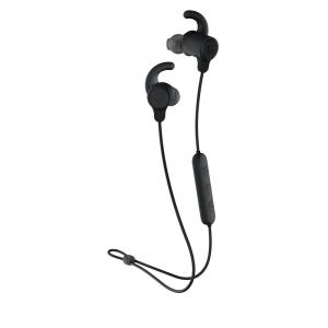 Skullcandy Jib+ Active Wireless Earbuds - Black/Black