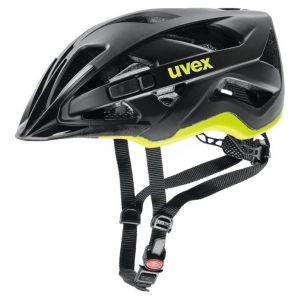 Uvex Active CC Cycling Helmet - Black/Yellow - Size 52-57