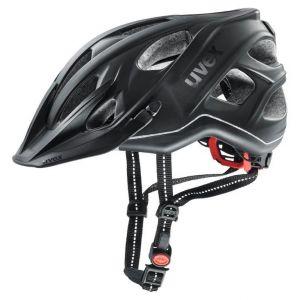 Uvex City Light Cycling Helmet - Black - Size 52-57