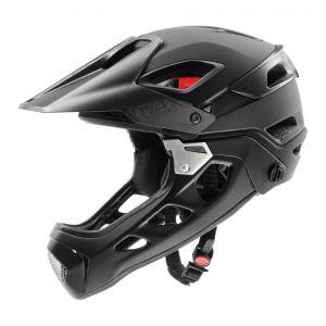 Uvex Jakkyl hde Cycling Helmet - Black/Silver - Size 52-57