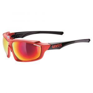 Uvex Sportstyle 710 Sports Eyewear - Red/Black