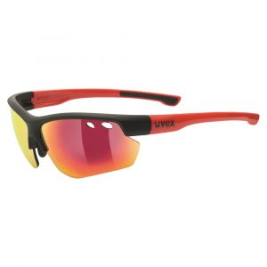 Uvex Sportstyle 115 Sports Eyewear - Black/Red