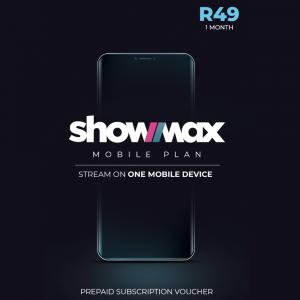 Showmax Mobile Plan R39 - 1 Month Subscription