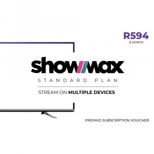 Showmax Standard Plan R594.00 - 6 Months Subscription