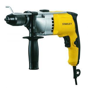 Stanley 720W 13 mm Percussion Drill - Single Gear + Kitbox