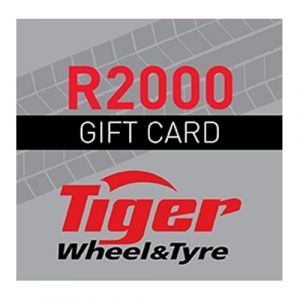 Tiger Wheel & Tyre R2000 Gift Card