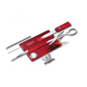 Victorinox SwissCard Lite Translucent Red