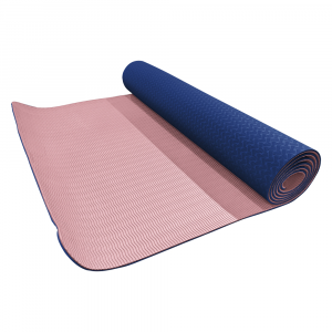 Volkano Active Non-Slip 5mm Thick TPE Yoga Mat in Pastel Pink