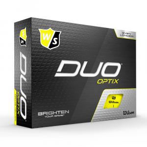 Wilson Staff Duo Optix Matte Yellow