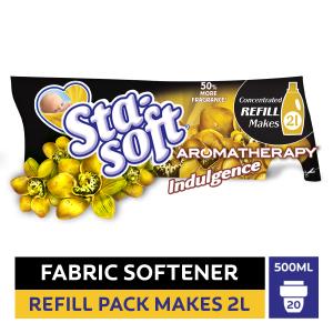 Sta-Soft Aromatherapy Indulgence Fabric Softener Refill - 500ml