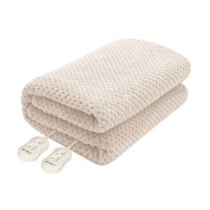Pure Pleasure King Fullfit Coral Fleece Electric Blanket