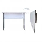 SpaceSave FLIP n FLAT Folding Portable Desk 100x60cm - Ice White